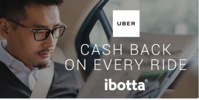 Uber through Ibotta offers huge savings for an already affordable platorm